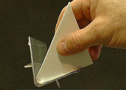 The Ultimate Clean Up Card Can Scrape Corners and Angles